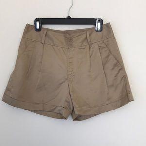 Club Monaco Pleated Shorts